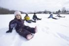 na snehu